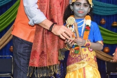 Anupam Kher with young Krishna