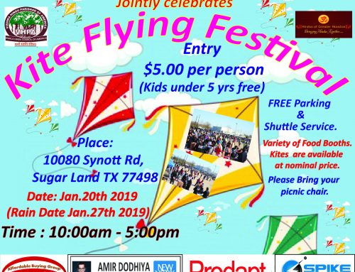 Gujarati Samaj Kite Flying Festival 2019