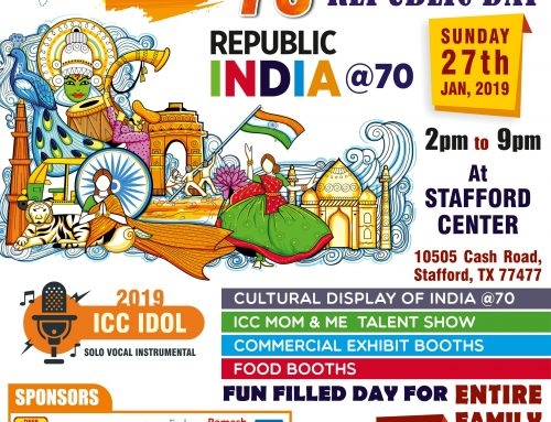 India Culture Center-Houston Celebrates India's 70th Republic Day