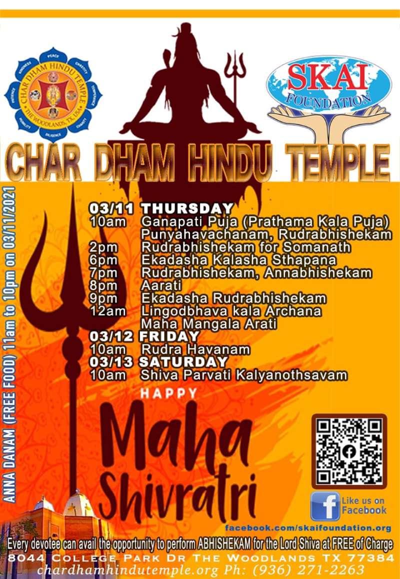 Char Dham Mahashivrathri